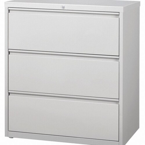 Hirsh Lateral File Cabinet,40-1/4 in. H,Steel  17635 Perspective: front
