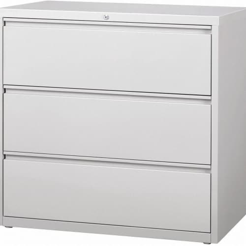 Hirsh Lateral File Cabinet,Steel,42 in. W  17645 Perspective: front