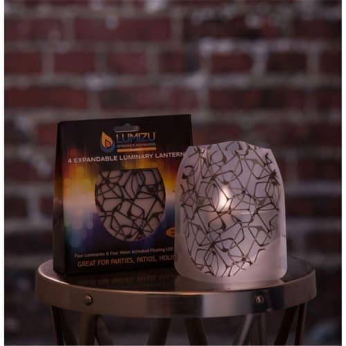 Modgy LUM3014 Lumizu Expandable Luminary Lantern IceIceBaby Perspective: front