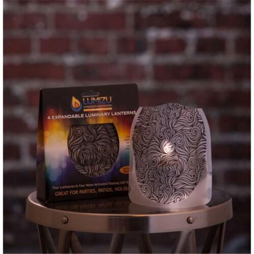 Modgy LUM3016 Lumizu Expandable Luminary Lantern Whirligig Perspective: front