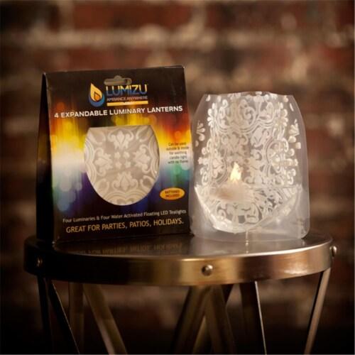 Modgy LUM3003 Lumizu Expandable Luminary Lantern ChiChi Perspective: front