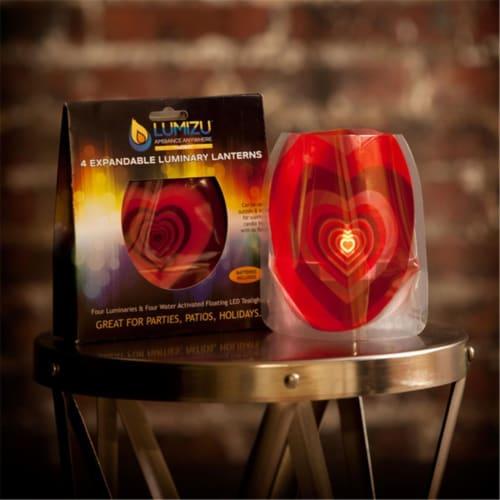 Modgy LUM3004 Lumizu Expandable Luminary Lantern Venusdemodgy Perspective: front