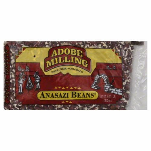 Adobe Milling Anasazi Beans Perspective: front