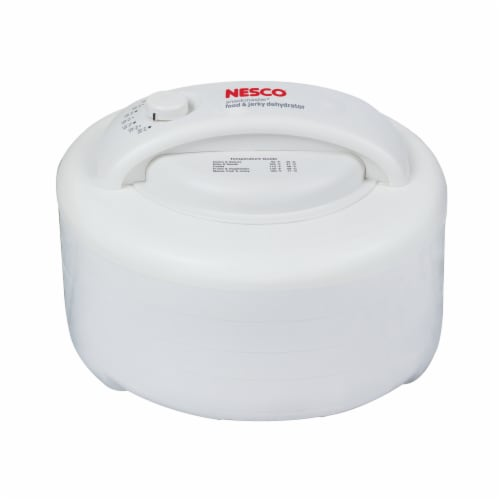 Nesco Snackmaster Express Food Dehydrator - White Perspective: front