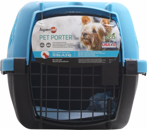 Aspen Pet Taxi Dog Kennel Perspective: front