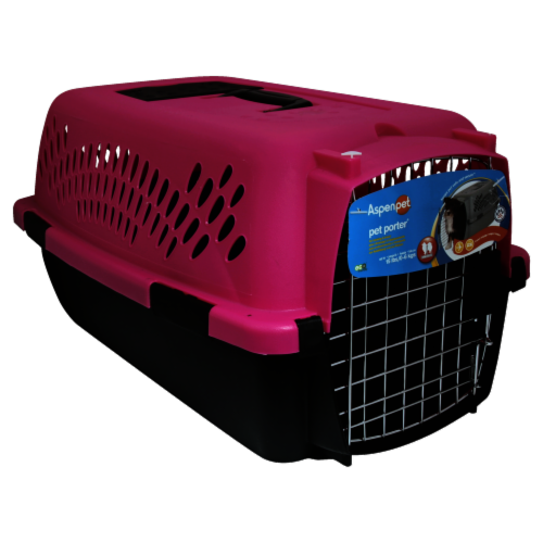 Aspen Pet Medium Pet Porter - Assorted Perspective: front