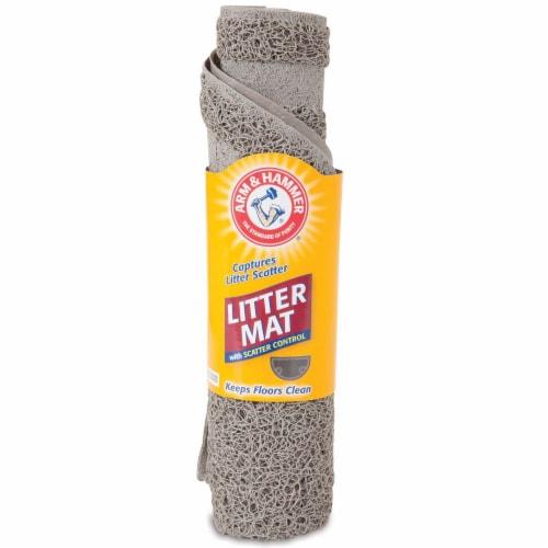 Arm & Hammer Cat Litter Mat Perspective: front
