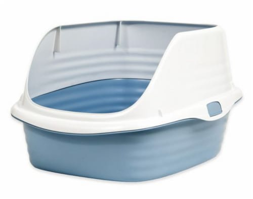 Arm and Hammer Large Rimmed Litter Pan Perspective: front