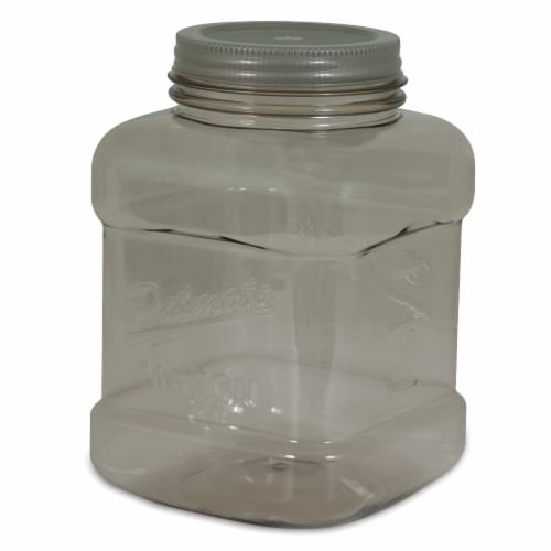 Petmate Mason Treat Jar Perspective: front