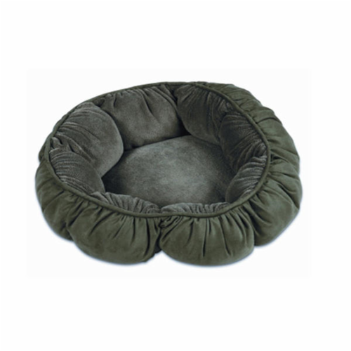 Doskocil Puffy Round Cat Bed - Assorted Perspective: front