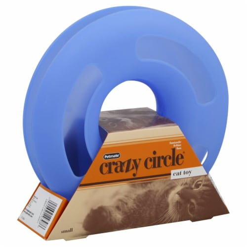 Petmate Small Crazy Circle Cat Toy Perspective: front
