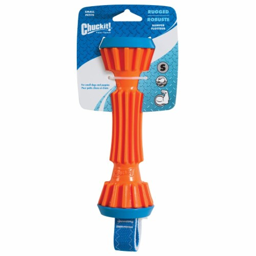 Chuckit Rugged Bumper Small Dog Toy Perspective: front