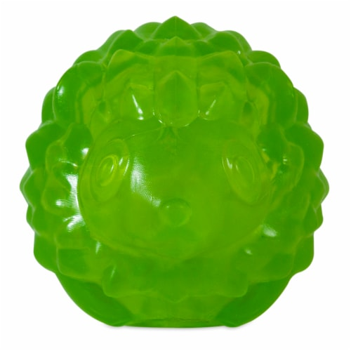 JW Pet Small Hedgehog Squeaky Ball Perspective: front