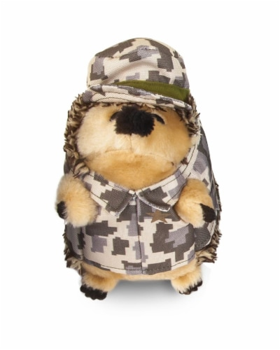 Petmate Camo Hedgehog Dog Toy Perspective: front