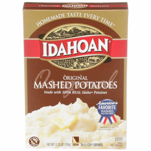 Idahoan Original Mashed Potatoes Perspective: front