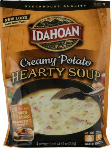 Idahoan Steakhouse Creamy Potato Soup Perspective: front