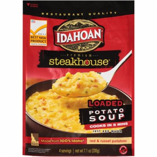 Idahoan Loaded Potato Hearty Soup Perspective: front
