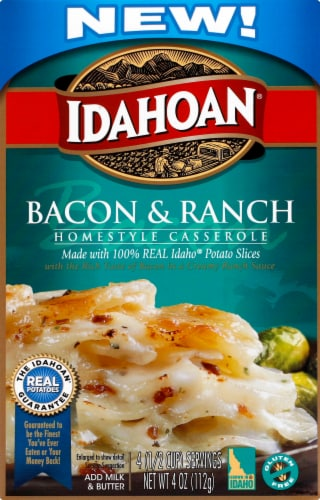Idahoan Bacon & Ranch Homestyle Casserole Perspective: front