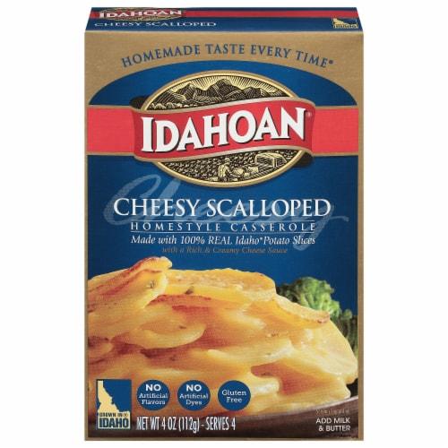 Idahoan Cheesy Scalloped Homestyle Casserole Potatoes Perspective: front