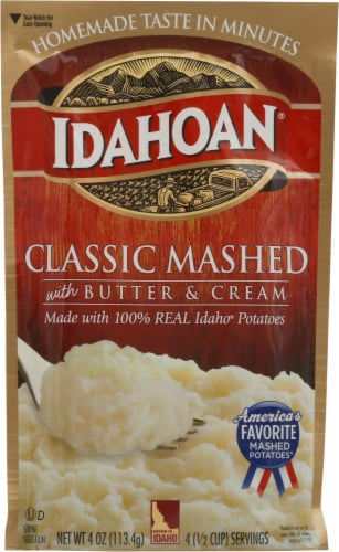Idahoan® Classic Mashed Potatoes Perspective: front