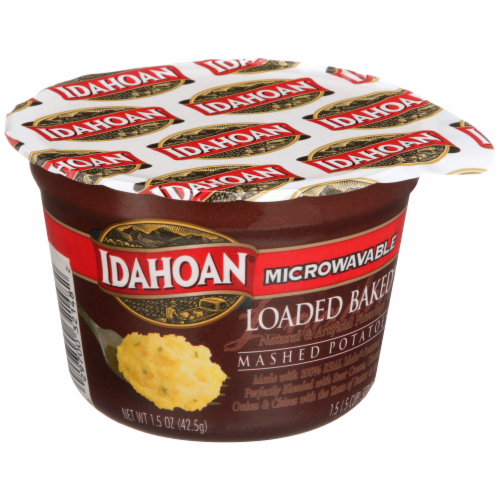Idahoan Loaded Baked Cup Perspective: front