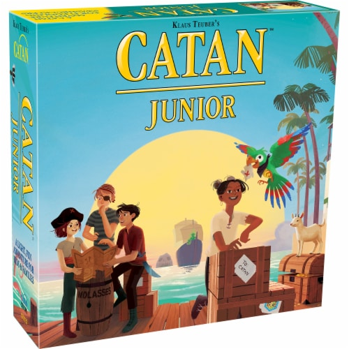 Mayfair Games Catan Junior Board Game Perspective: front
