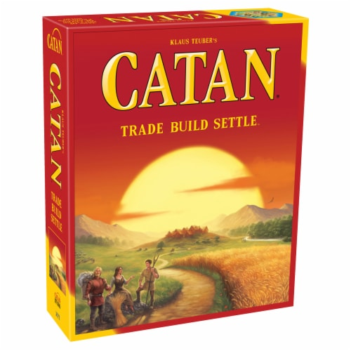 Catan Board Game Perspective: front
