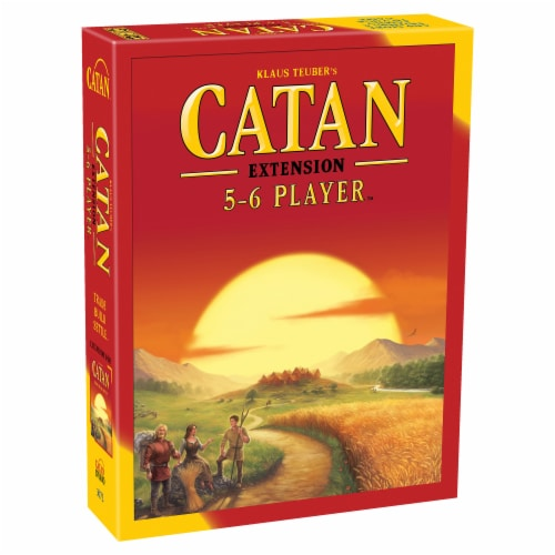 Asmodee Editions Catan 5-6 Player Extension Board Game Perspective: front