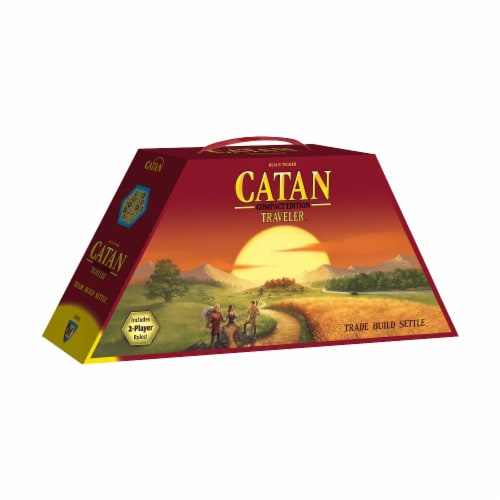 Mayfair Games Catan Traveler Compact Edition Board Game Perspective: front