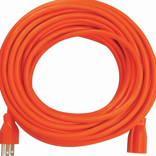 Southwire Extension Cord,14 AWG,125VAC,25 ft. L  2457SW0003 Perspective: front
