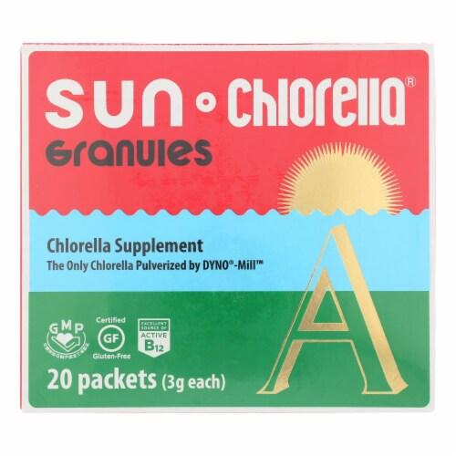 Sun Chlorella A Granules Perspective: front
