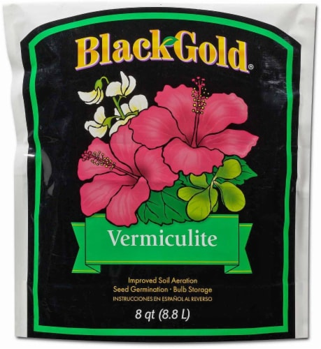 Black Gold® Vermiculite Perspective: front