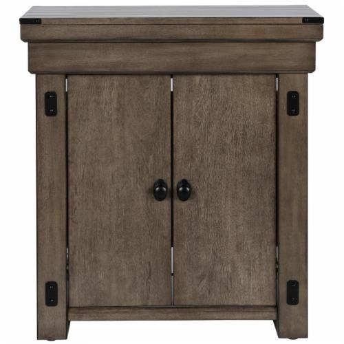 Wildwood 20 Gallon Aquarium Stand, Rustic Gray Perspective: front