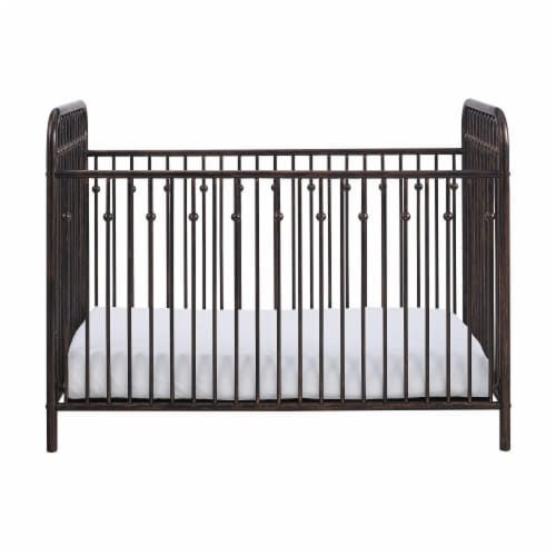 Monarch Hill Ivy Bronze Metal Baby Crib Perspective: front