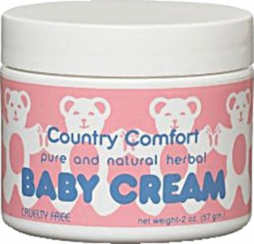 Country Comfort Pure & Natural Herbal Baby Cream Perspective: front