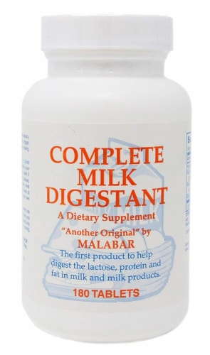Malabar  Complete Milk Digestant Perspective: front