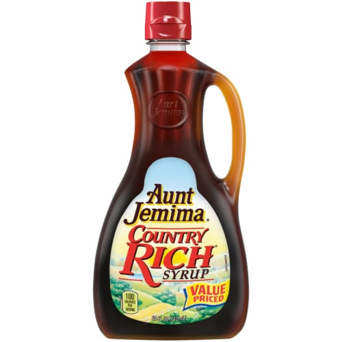 Aunt Jemima Country Rich Syrup Perspective: front