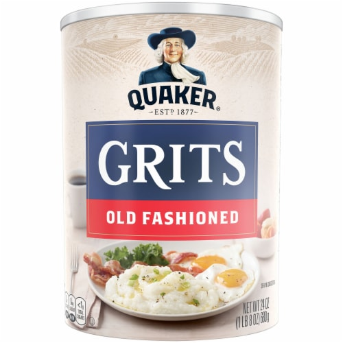 Quaker Old Fashioned Grits Breakfast Perspective: front