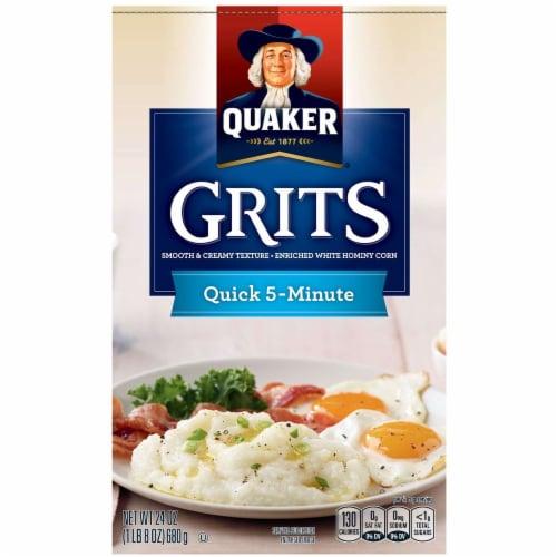 Quaker Quick Grits, 1.5 Pound -- 12 per case. Perspective: front