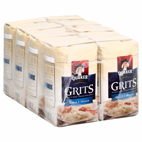 Cereal Grits Quick White Perspective: front