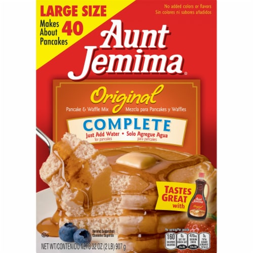 Aunt Jemima Original Complete Pancake and Waffle Mix Perspective: front