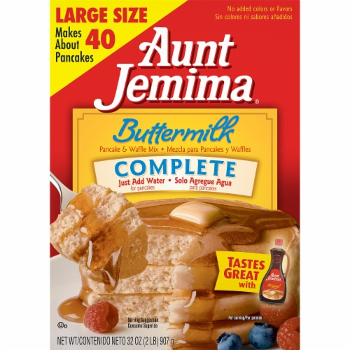Aunt Jemima Buttermilk Complete Pancake & Waffle Mix Perspective: front