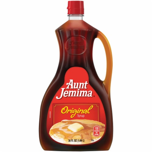 Aunt Jemima Original Maple Syrup Perspective: front