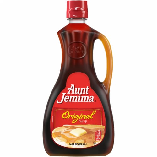 Aunt Jemima Original Syrup Perspective: front