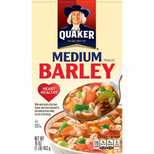 Quaker Scotch Barley Perspective: front