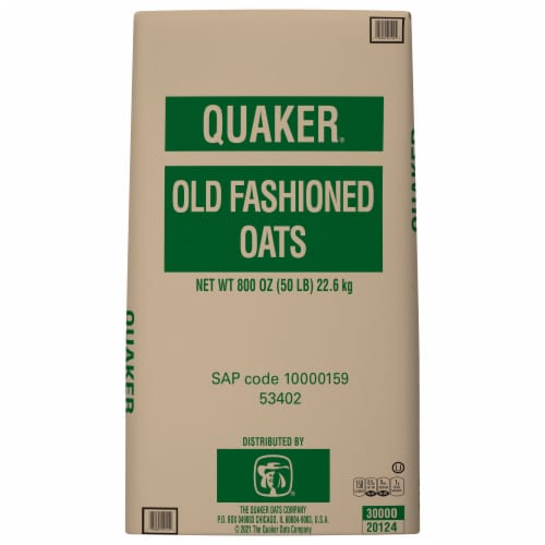 Quaker Buckeye Rolled Oats Perspective: front