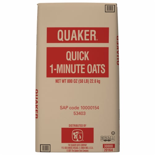Quaker® Buckeye Quick Cooking Rolled Oats Perspective: front