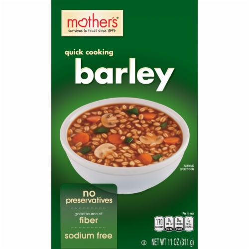 Mother's Quick Cooking Barley Cereal Perspective: front