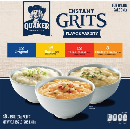Quaker Instant Grits Variety Pack Perspective: front
