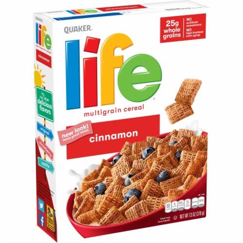 Life Cinnamon Multigrain Cereal Perspective: front